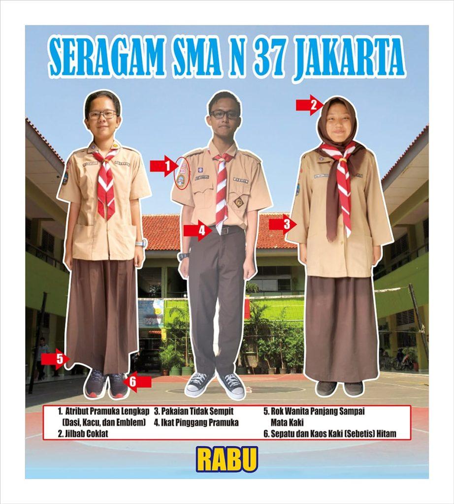 Model Seragam Sman 37 Sman 37 Jakarta